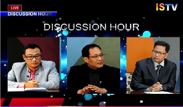 NERAMAC Representative in Discussion hour on 25th March 2018 on ISTV Network